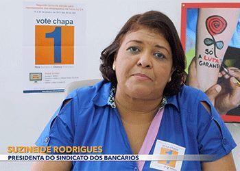 <a href=https://youtu.be/LSeE307aTi8 class=trs>Mensagem de Suzi Suzineide Rodrigues Medeiros, presidenta do Sindicato dos Bancários, em apoio a Chapa 1</a>