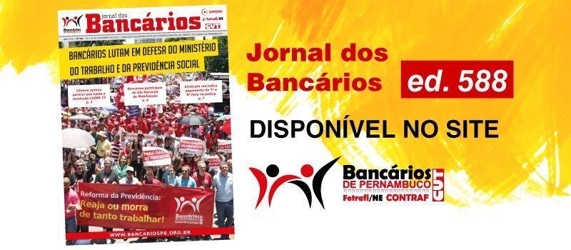 O Jornal dos Bancários está disponível
