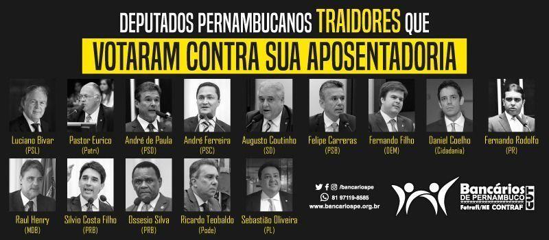 Deputados que votaram a favor da reforma da Previdência