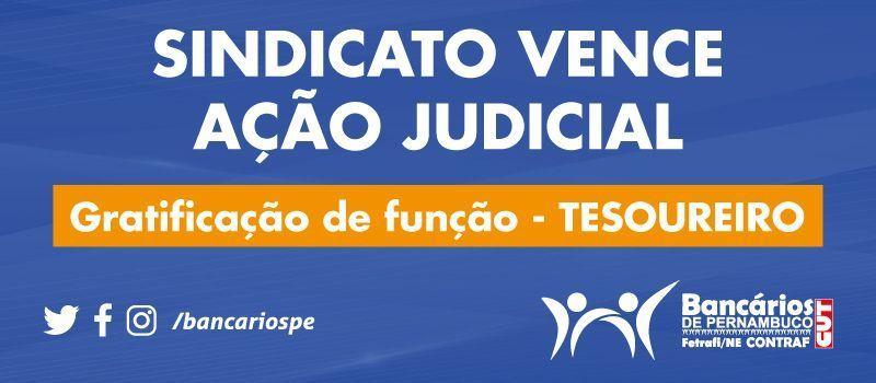 Sindicato vence ação judicial que beneficia tesoureiros da Caixa
